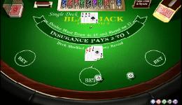 Free Single Deck Blackjack Amaya