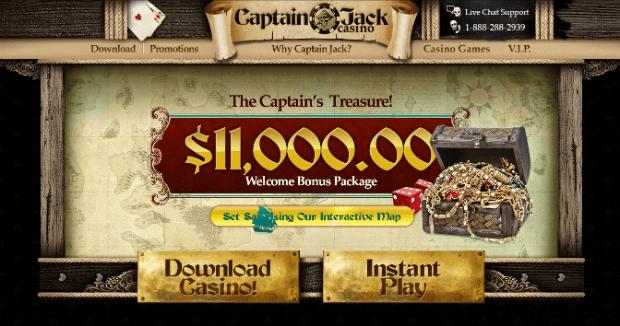 Captain Jacks Casino Instant Play