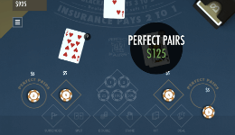 Perfect Pairs Blackjack USA