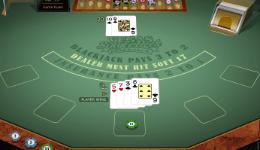 Vegas Single Deck Gold Blackjack