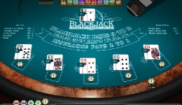 Realistic 21+3 Blackjack
