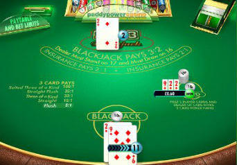 21 3 blackjack
