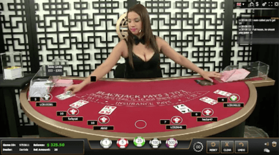 Global Gaming Labs Live Dealer Blackjack