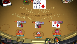 WGS Atlantic City Blackjack Review