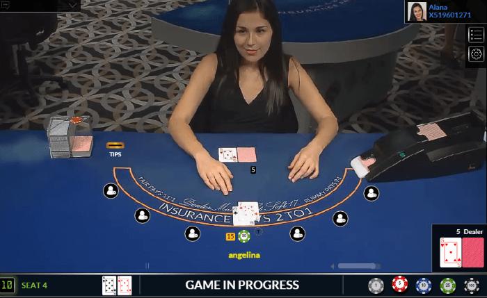 ViG Live HD Blackjack