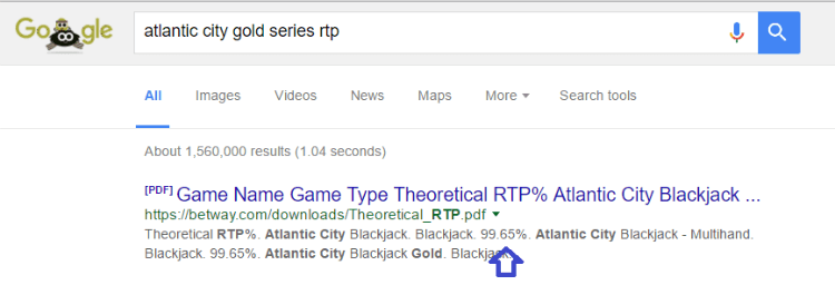 Blackjack RTP Check