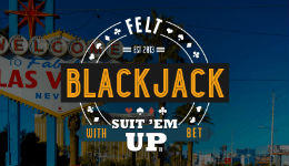 Felt Suit 'Em Up Blackjack