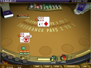 Miami Club Casino Blackjack
