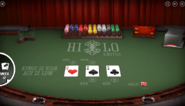 Hi Lo Switch Card Game