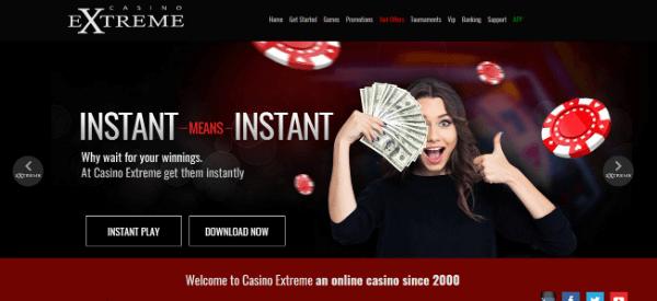 Casino Extreme Home