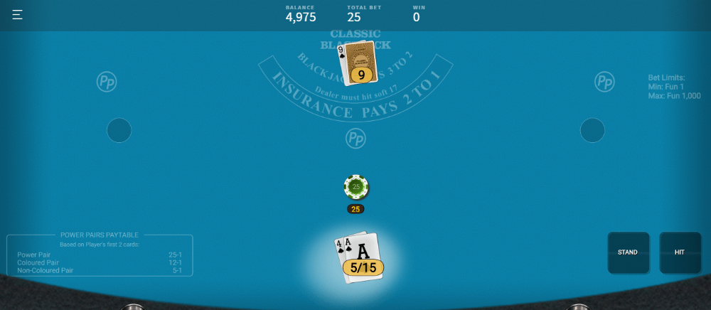 Provably Fair Blackjack Games