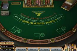 Free Super 7 Blackjack
